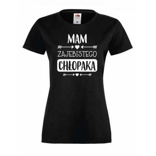 T-shirt lady MAM CHŁOPAKA