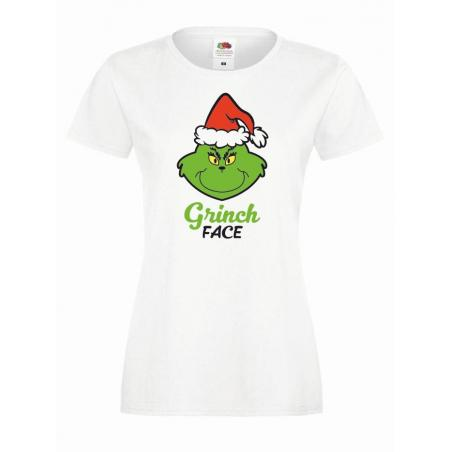 T-shirt lady DTG GRINCH FACE