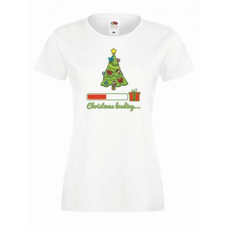 T-shirt lady DTG CHRISTMAS LOADING