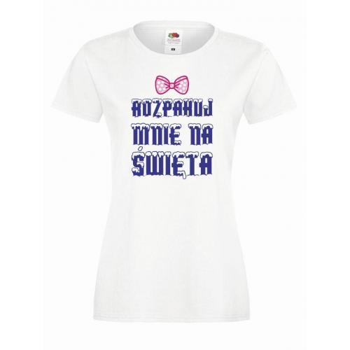 T-shirt lady DTG ROZPAKUJ MNIE