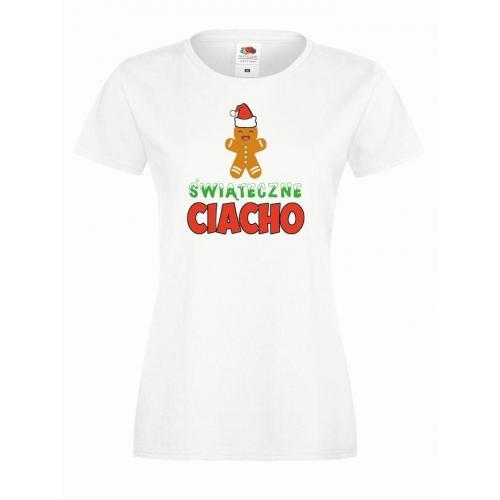 T-shirt lady DTG ŚWIĄTECZNECIACHO