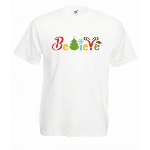 T-shirt oversize DTG BELIVE