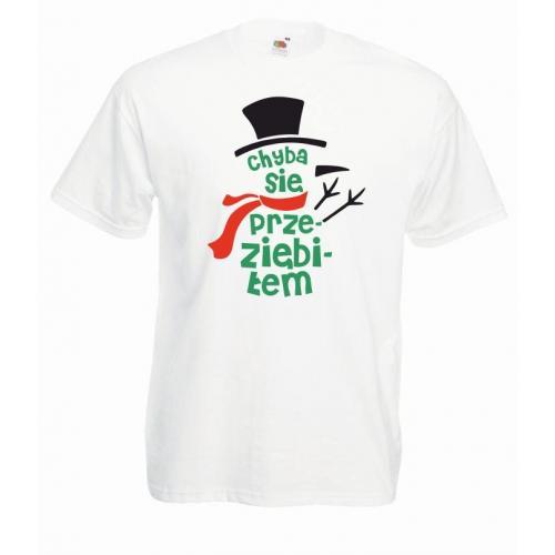 T-shirt oversize DTG CHYBA SIĘ PRZEZIĘBIŁEM