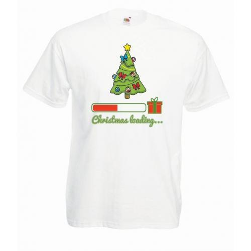 T-shirt oversize DTG CHRISTMAS LOADING