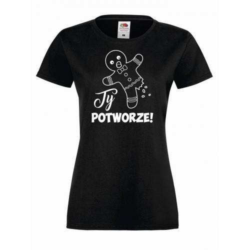 T-shirt lady TY POTWORZE
