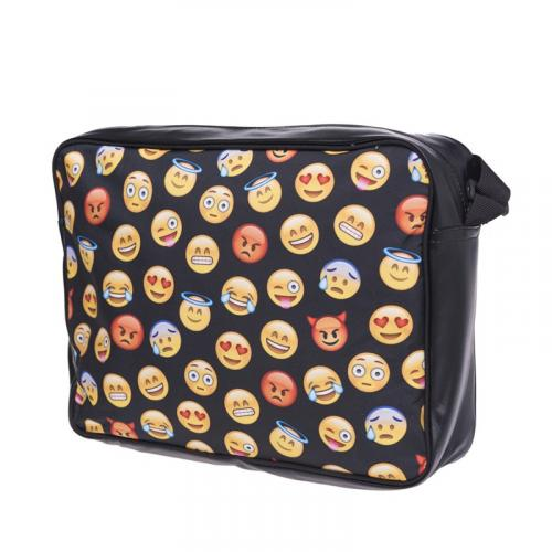 Torba courier EMOJI BLACK