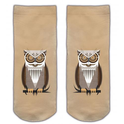 Skarpetki druk BROWN OWL