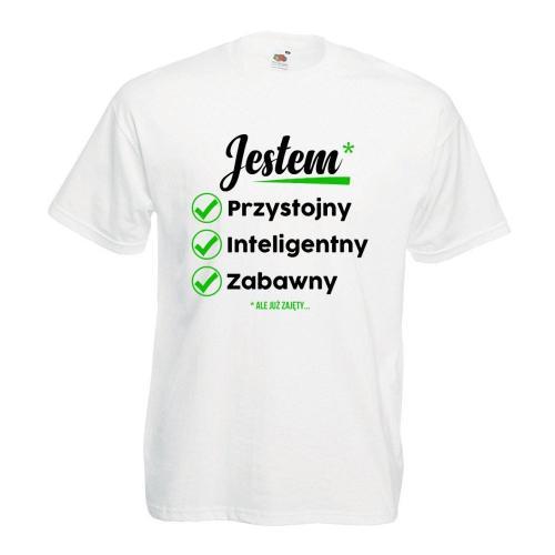 T-shirt oversize DTG JESTEM*