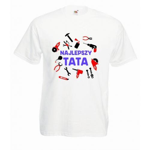 T-shirt oversize DTG NAJLEPSZY TATA TOOLS