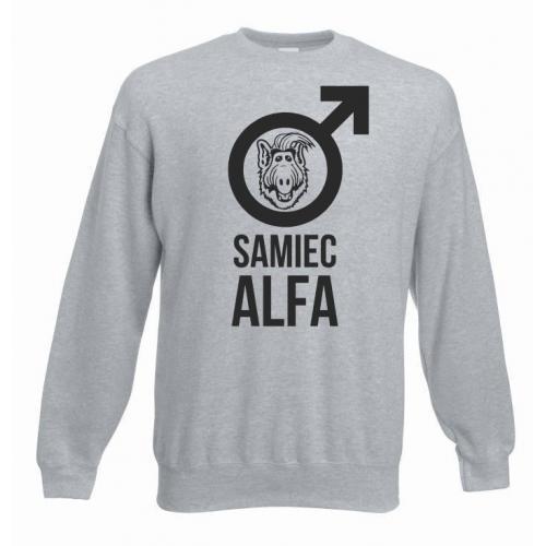 bluza oversize SAMIEC ALFA