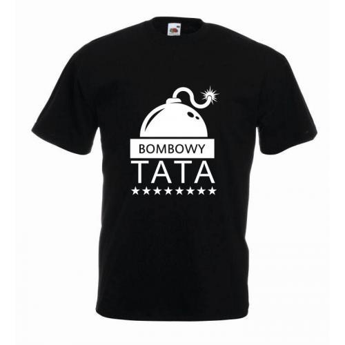 T-shirt oversize BOMBOWY TATA STARS