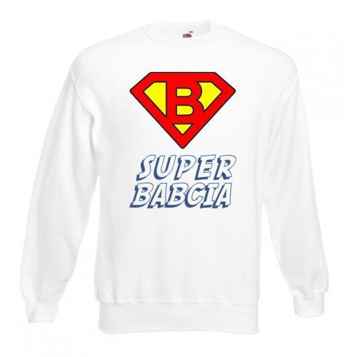 Bluza oversize DTG SUPER BABCIA