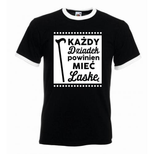 T-shirt oversize KAŻDY DZIADEK