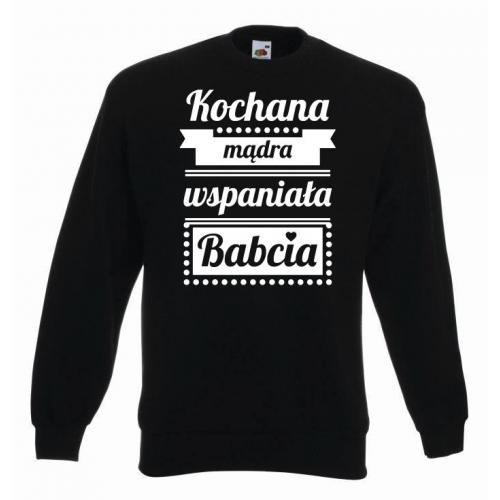 bluza oversize BOMBOWA BABCIA
