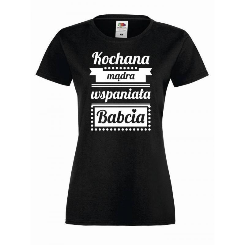 T-shirt lady/oversize KOCHANA MĄDRA BABCIA