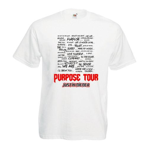 T-shirt lady/oversize DTG PURPOSE TOUR (OUTLET)