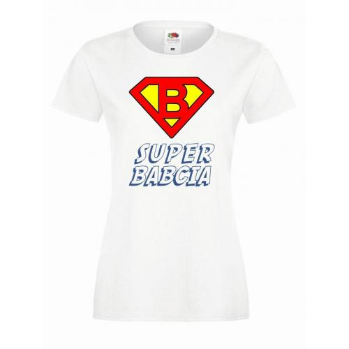T-shirt lady DTG SUPER BABCIA (OUTLET)