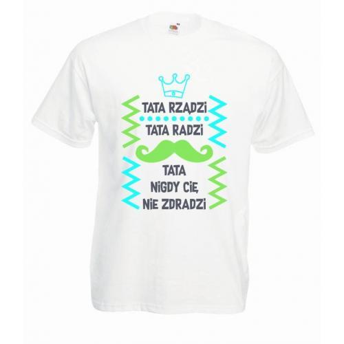 T-shirt oversize DTG TATA RZĄDZI (OUTLET)