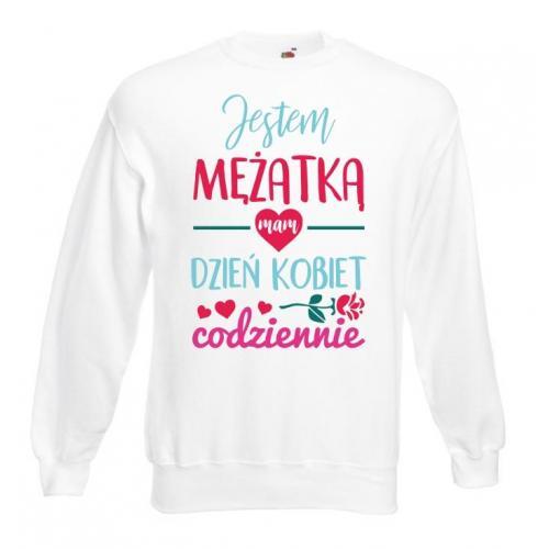 Bluza oversize DTG JESTEM MĘŻATKĄ