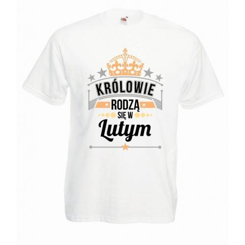 T-shirt oversize DTG KRÓLOWIE LUTY