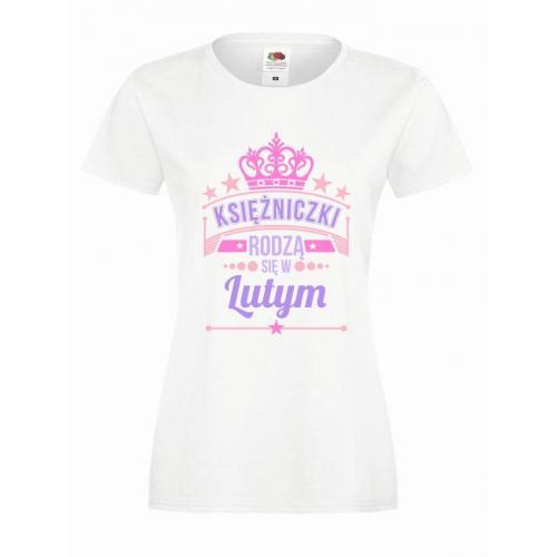 T-shirt lady slim DTG KSIĘŻNICZKI LUTY