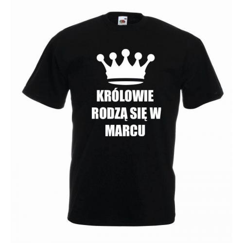 T-shirt oversize KRÓLOWIE MARZEC
