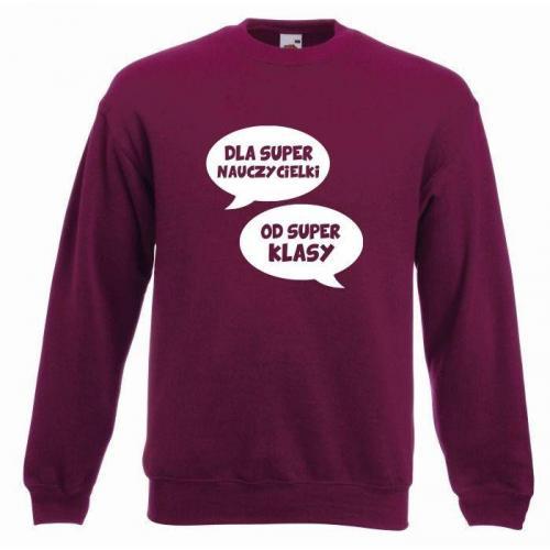 bluza oversize OD SUPER KLASY (OUTLET)