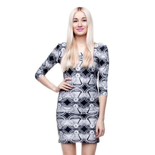 sukienka full print 3d BEES