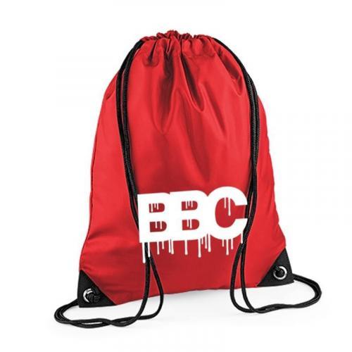 plecak worek BBC czerwony
