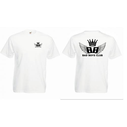 T-shirt oversize BBC WINGS czarna