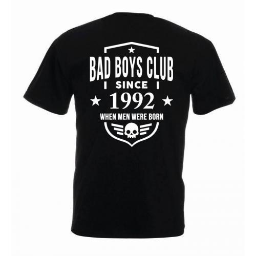 T-shirt oversize BBC SINCE - tył (rok wybierasz sam!)