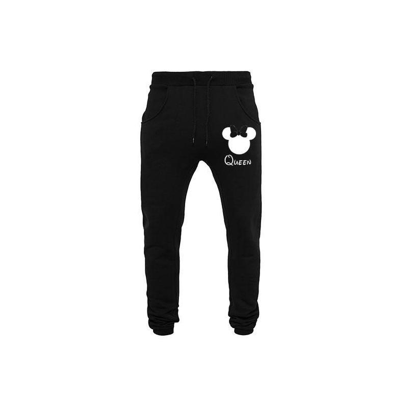 spodnie dresowe czarne DOPE diamond
