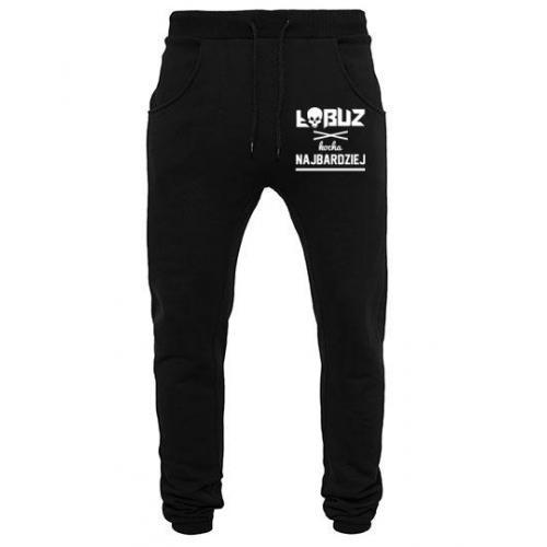 spodnie dresowe ŁOBUZ