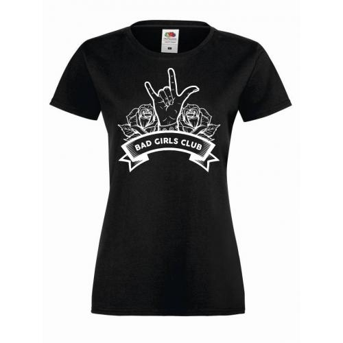 T-shirt lady T-shirt lady BGC BAD GIRLS CLUB HANDS