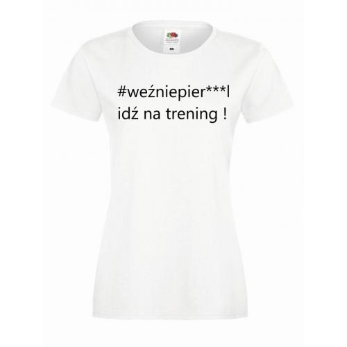 T-shirt lady WEŹNIEPIE***L