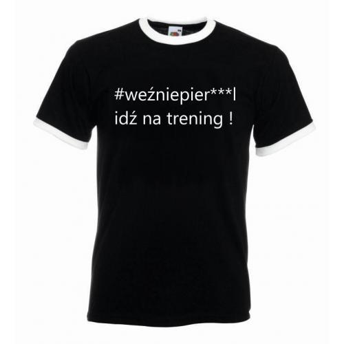 T-shirt oversize WEŹNIEPIE***L