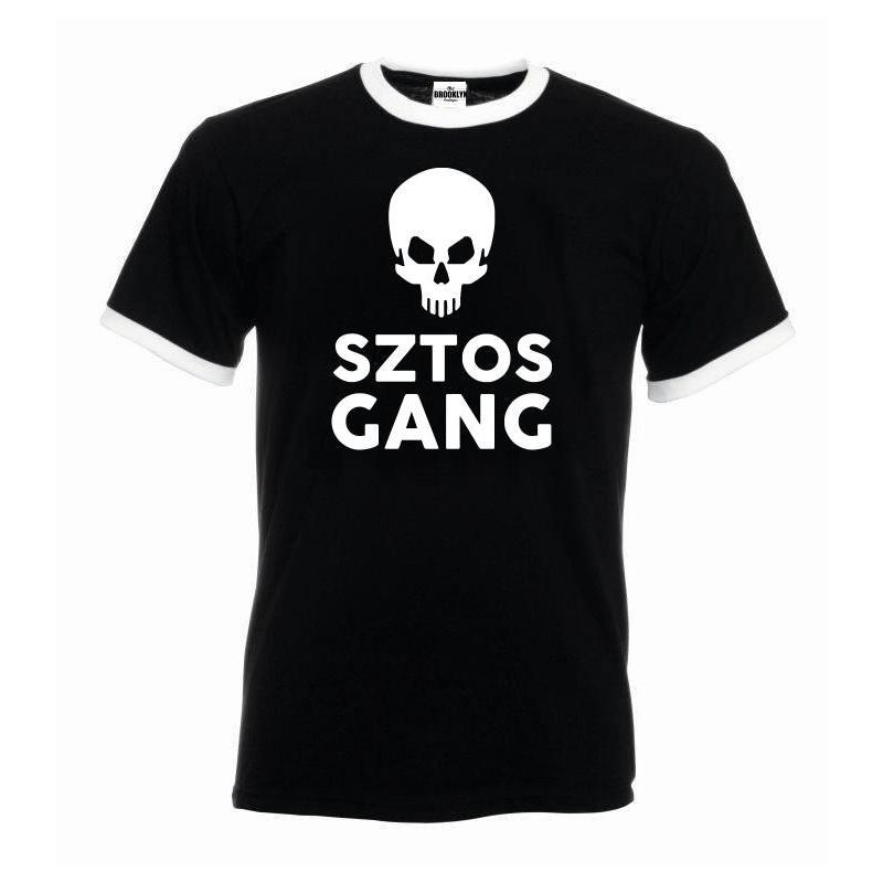 T-shirt oversize SZTOS GANG SKULL