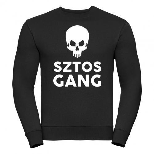 bluza oversize SZTOS GANG SKULL