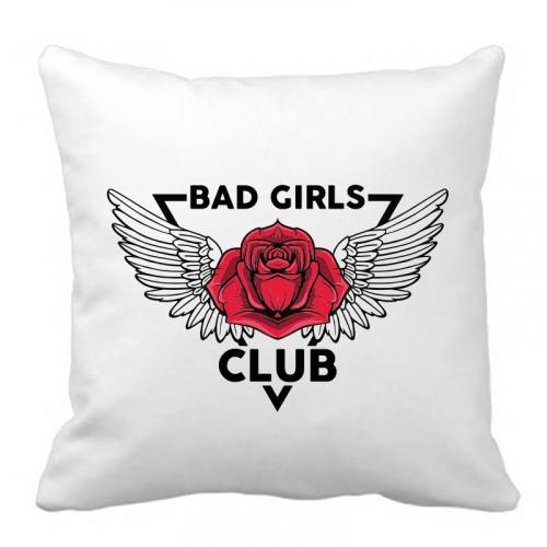 PODUSZKA z nadrukiem BGC BAD GIRLS CLUB CZACHA