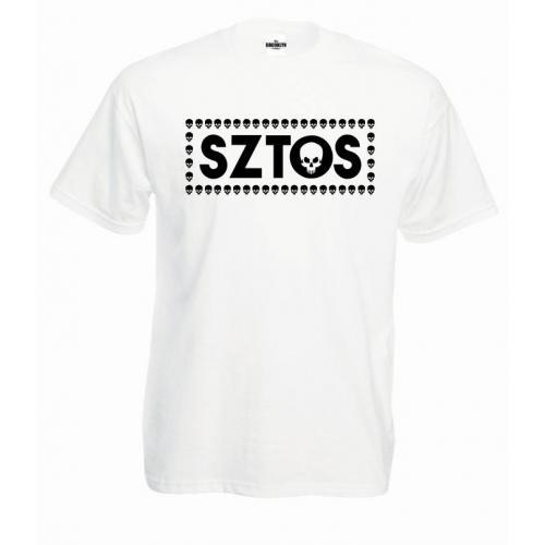 T-shirt oversize SZTOS SKULL