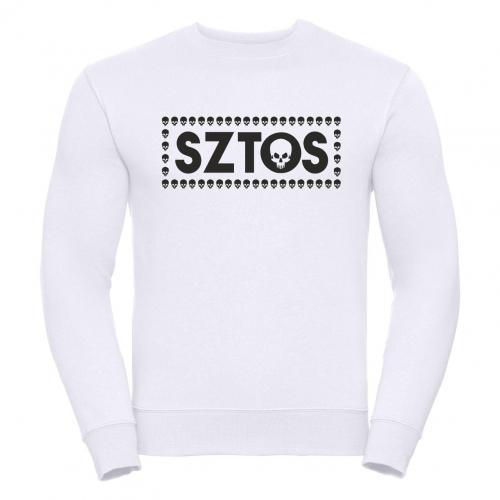bluza oversize SZTOS SKULL