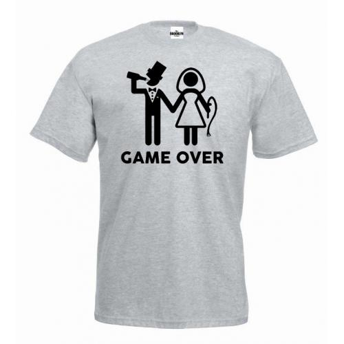 T-shirt oversize GAME OVER