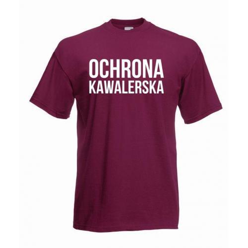 T-shirt oversize OCHRONA KAWALERSKA