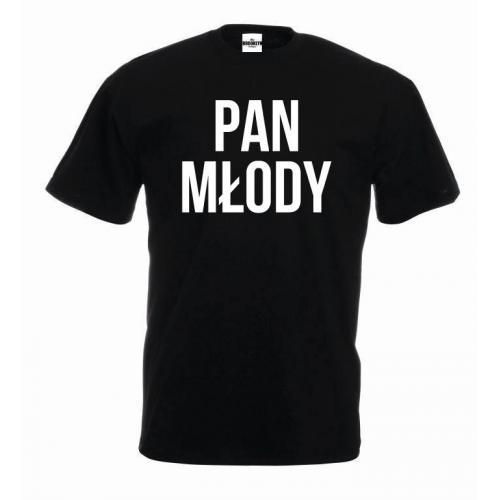 T-shirt oversize PAN MŁODY