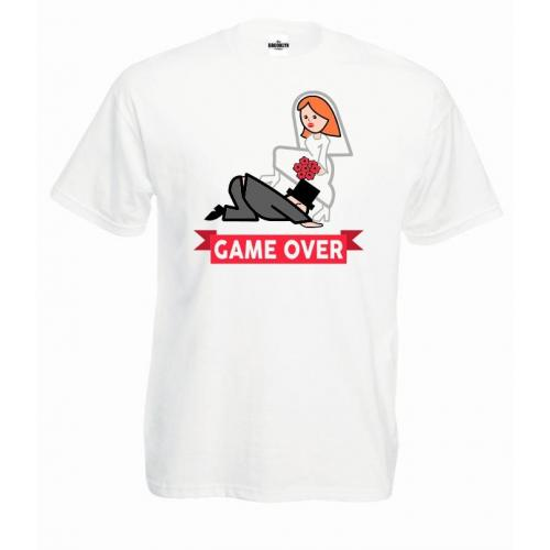T-shirt oversize DTG GAME OVER 2