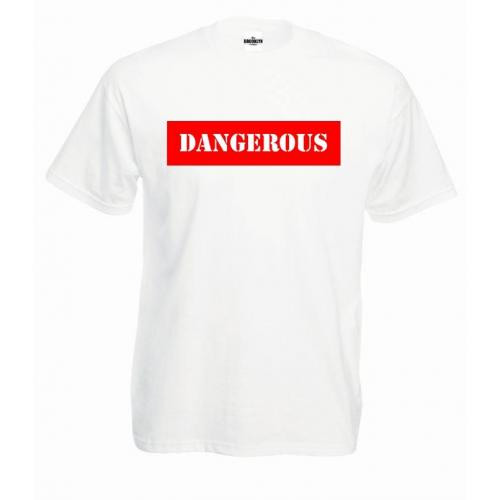 T-shirt oversize DTG DANGEROUS RED