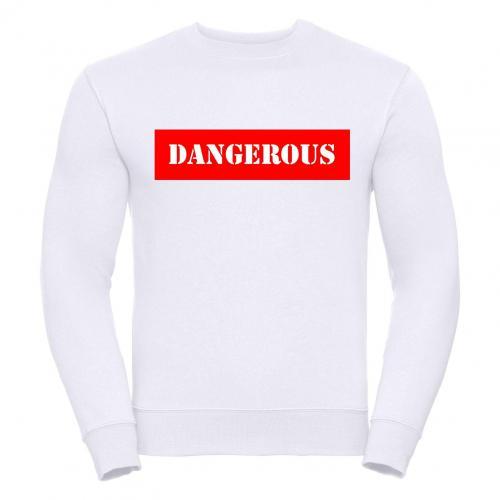 Bluza oversize DTG DANGEROUS RED