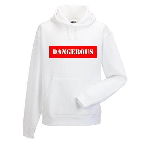 Bluza z kapturem DTG DANGEROUS RED