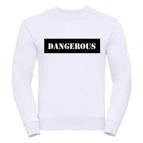 Bluza oversize DTG DANGEROUS BLACK