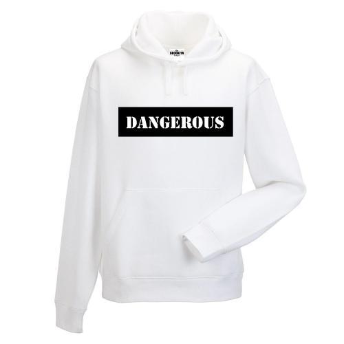 Bluza z kapturem DTG DANGEROUS BLACK
